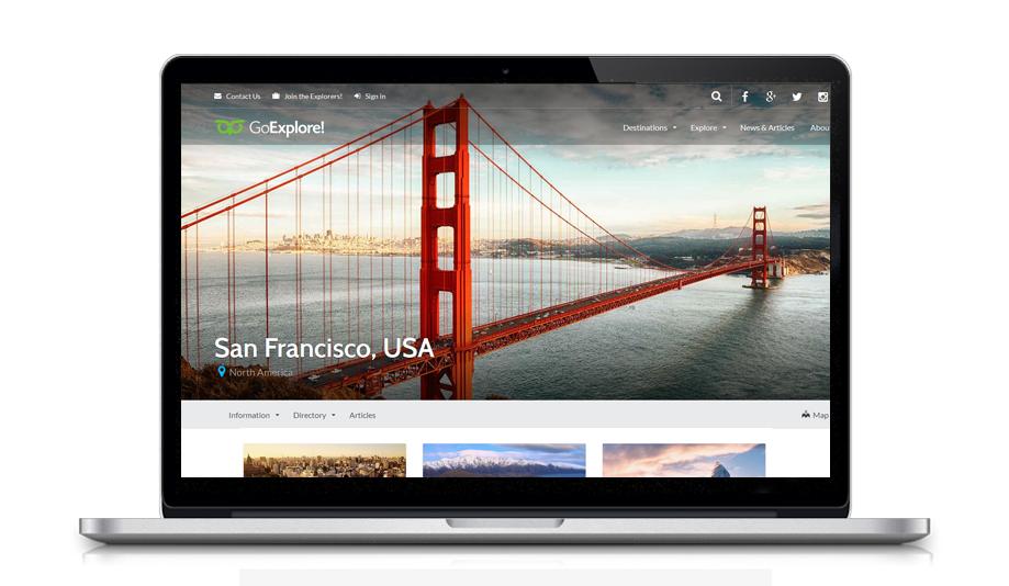 Desenvolvimento de Site para Agência de Turismo