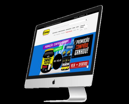 Criação de Loja Virtual para Suplementos