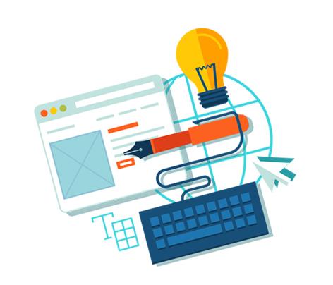 criação de arte para sites