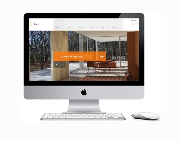 Site para Arquiteto