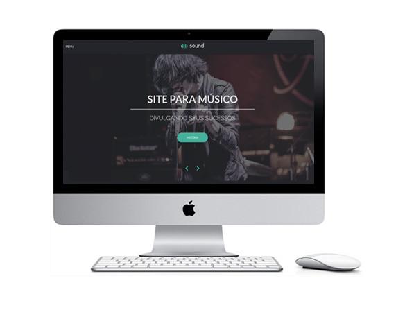 Desenvolvimento de Sites para Músicos