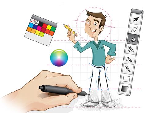 Desenhos Ilustrador