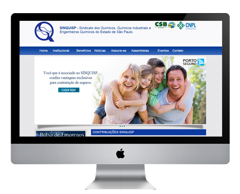 Criação de Sites para Sindicatos