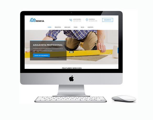 Desenvolvimento de Sites para Azulejistas