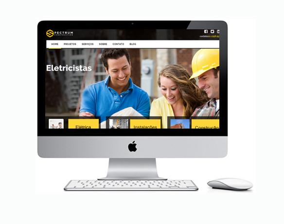 Criação de Sites para Eletricistas