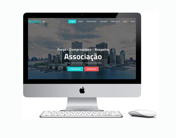 Criação de Sites para Associação