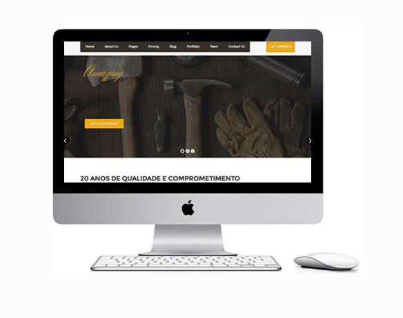 Criação de Sites para Carpinteiros