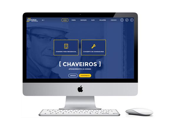 Desenvolvimento de Sites para Chaveiros
