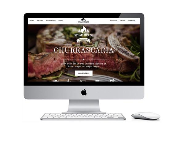 Desenvolvimento de Sites para Churrascarias