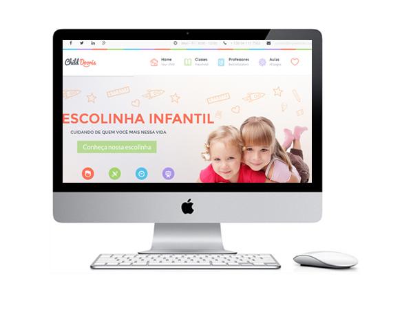 Desenvolvimento de Sites para Escola Infantil