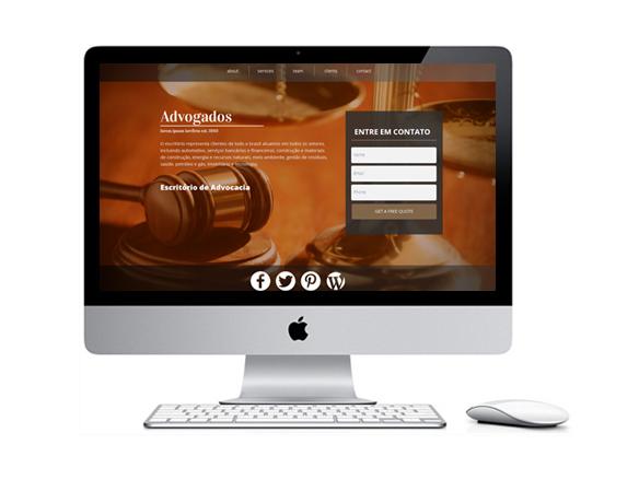 Desenvolvimento de Sites para Escritórios de Advocacia