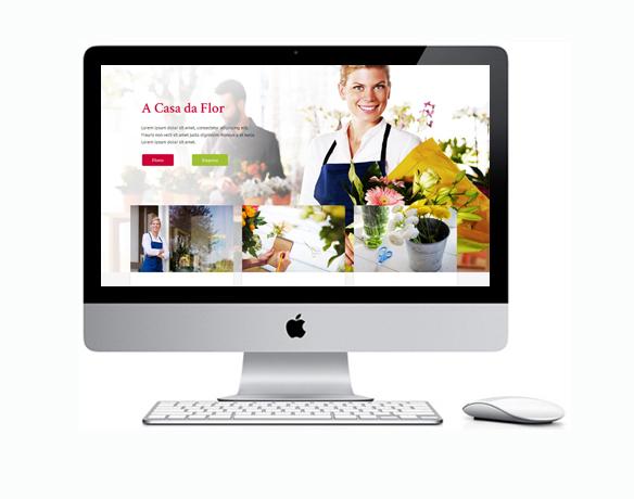 Criação de Sites para Floricultura