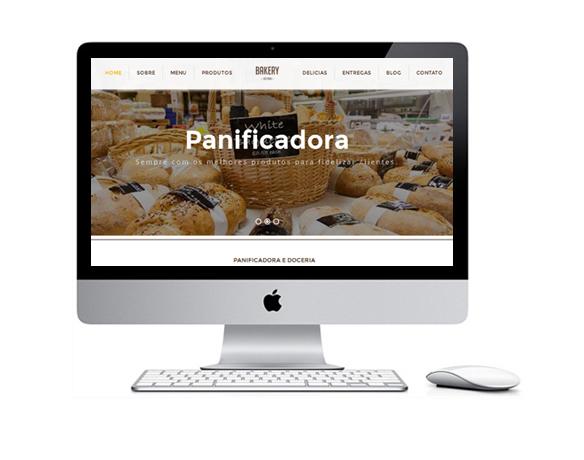 Desenvolvimento de Sites para Padarias