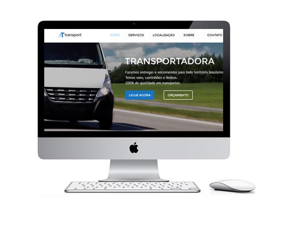 Desenvolvimento de Sites para Trasnportadoras