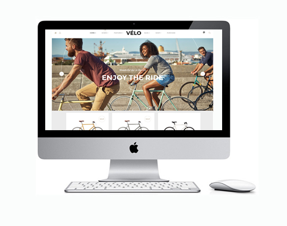 Criação de Loja Virtual para Vender Bicicletas