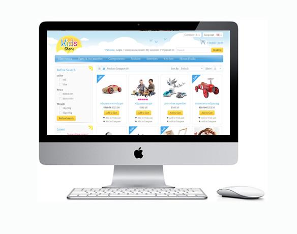 Criação de Loja Virtual para Vender Brinquedos