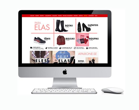 Criação de Loja Virtual para Vender Calçados