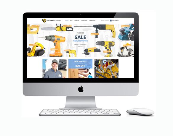 Criação de Loja Virtual para Vender Ferramentas
