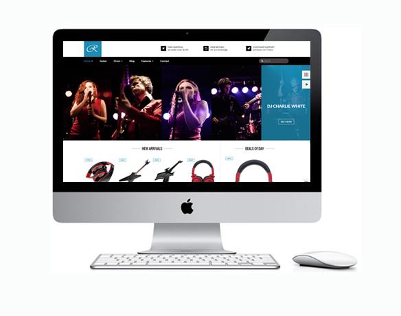 Criação de Loja Virtual para Vender Instrumentos Musicais