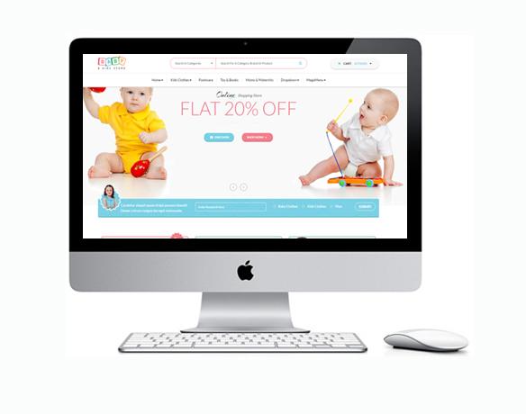 Loja Virtual para Moda Infantil