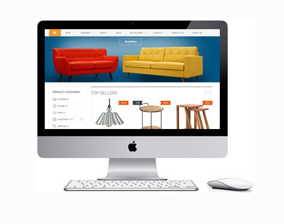 Criação de Loja Virtual de Produtos de Decoração