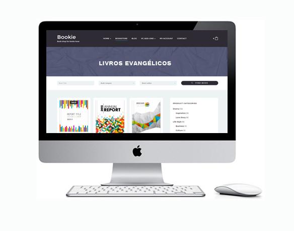 Criação de Loja Virtual para Vender Produtos Evangélicos