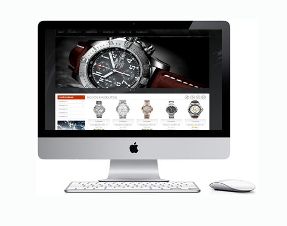 Desenvolvimento de Loja Virtual para Relógios