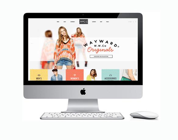Criação de Loja Virtual para Roupa Feminina