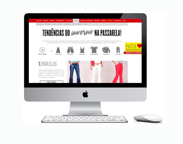 Criação de Loja Virtual para Vender Roupas