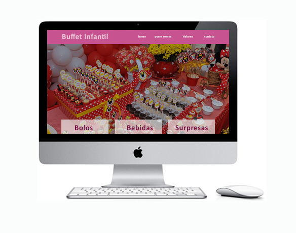 Criação de Sites para Buffet Infantil