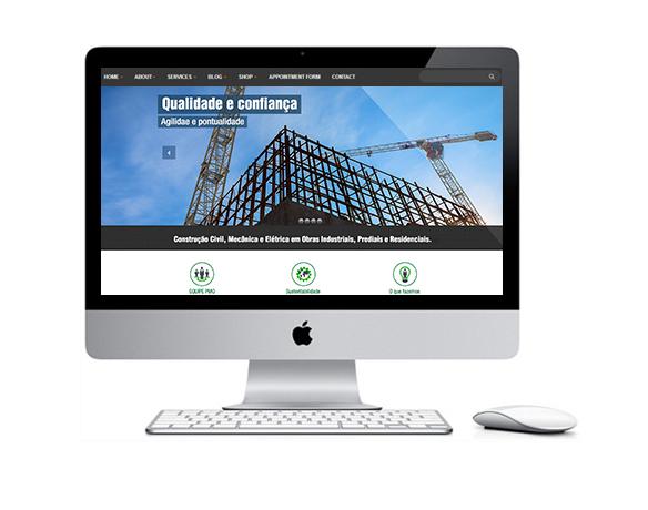 Desenvolvimento de Sites para Construtoras