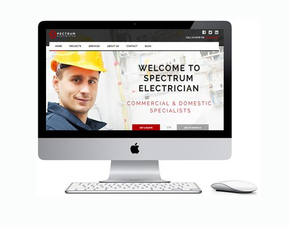 Criação de Sites para Empresa de Instalação