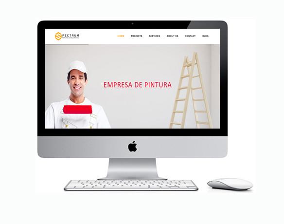 Criação de Sites para Empresa de Pintura