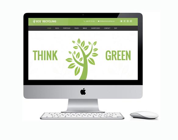 Criação de Sites para Empresa de Reciclagem