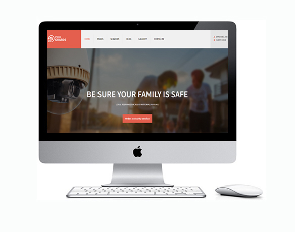 Criação de Sites para Empresa de Segurança