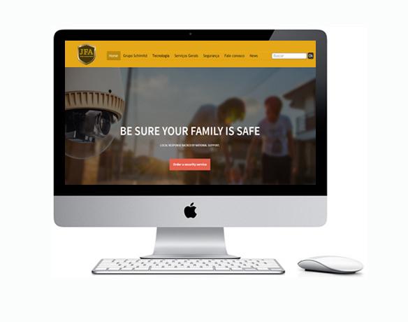 Desenvolvimento de Sites Empresas de Segurança