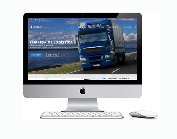Criação de Sites para Empresa de Transportes